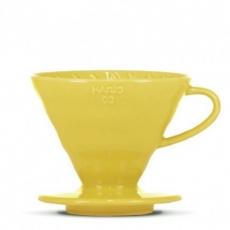 Hario dripper V60-02 žltý