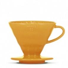 Hario dripper V60-02 oranžový