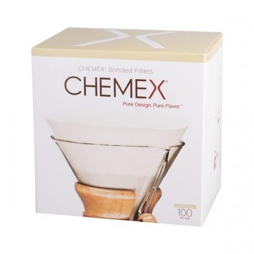 Papierové filtre na Chemex