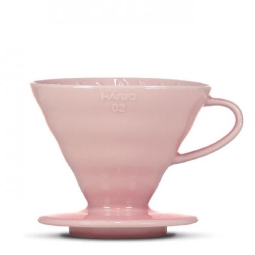 Hario dripper V60-02 - ružový