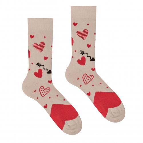 Veselé ponožky Láska
