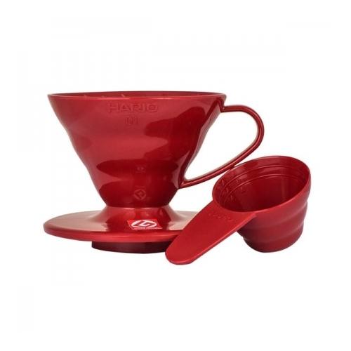 Hario Dripper V60-01 červený - plast
