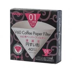 Papierové filtre Hario V60-01