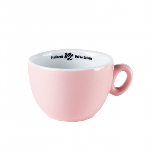 Šálka na cappuccino - ružová