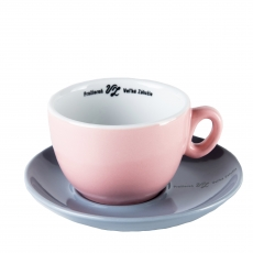 Šálka na cappuccino s podšálkou